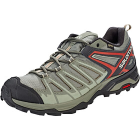 Salomon X Ultra 3 Prime GTX Chaussures Homme, castor gray/shadow/bossa nova